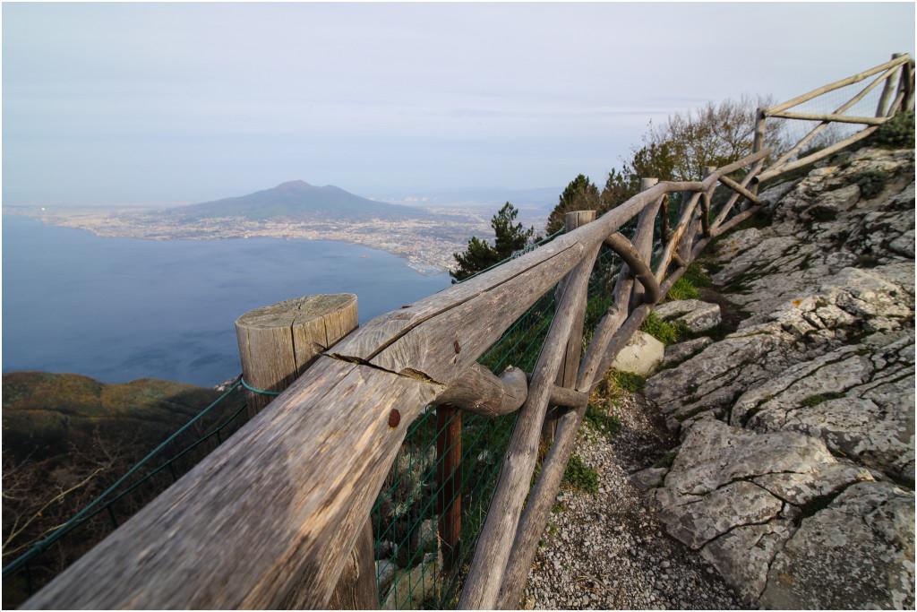Panoramica dal Monte Faito