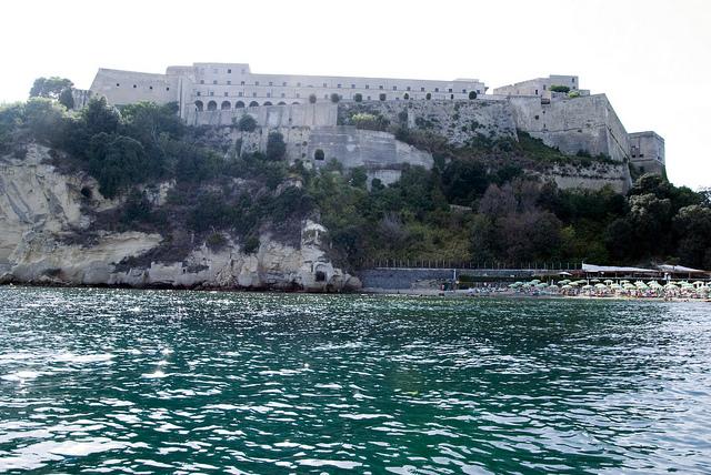 Spiaggia del Castello di Baia