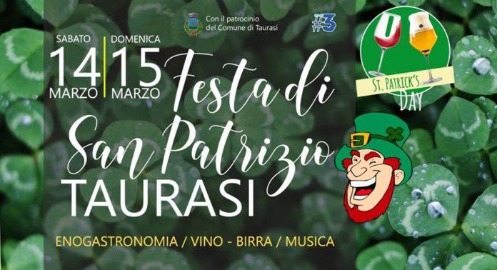 """A Taurasi, arriva la 1° edizione del """"Saint Patrick's Day"""""""