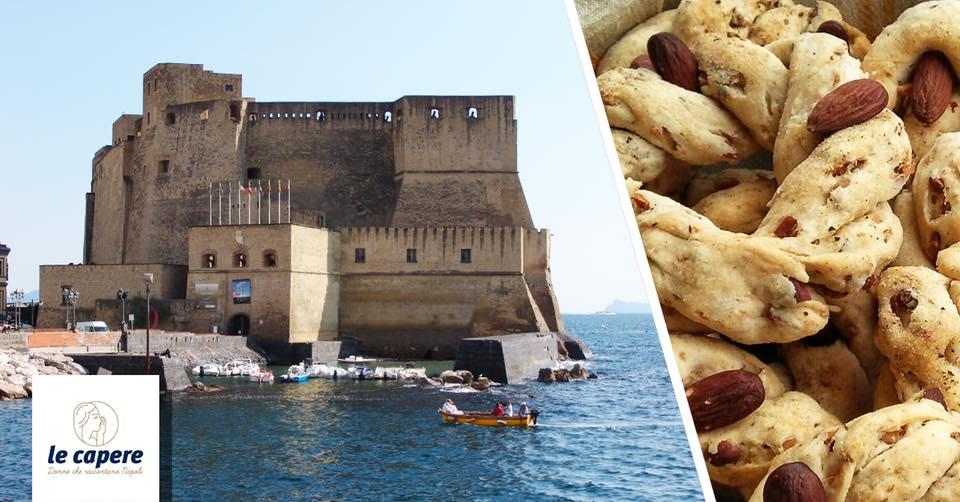 Napoli monumentale: da Castel dell'Ovo a Toledo con taralli e birra