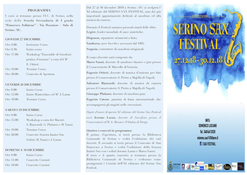 Serino Sax Festival