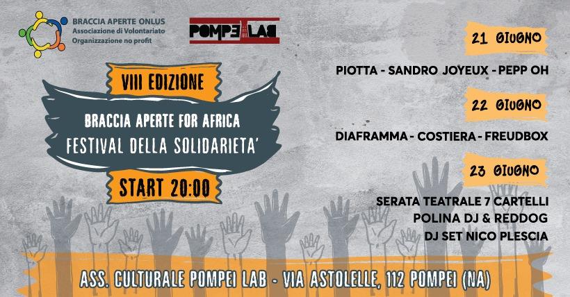 Braccia aperte: festival della Solidarietà