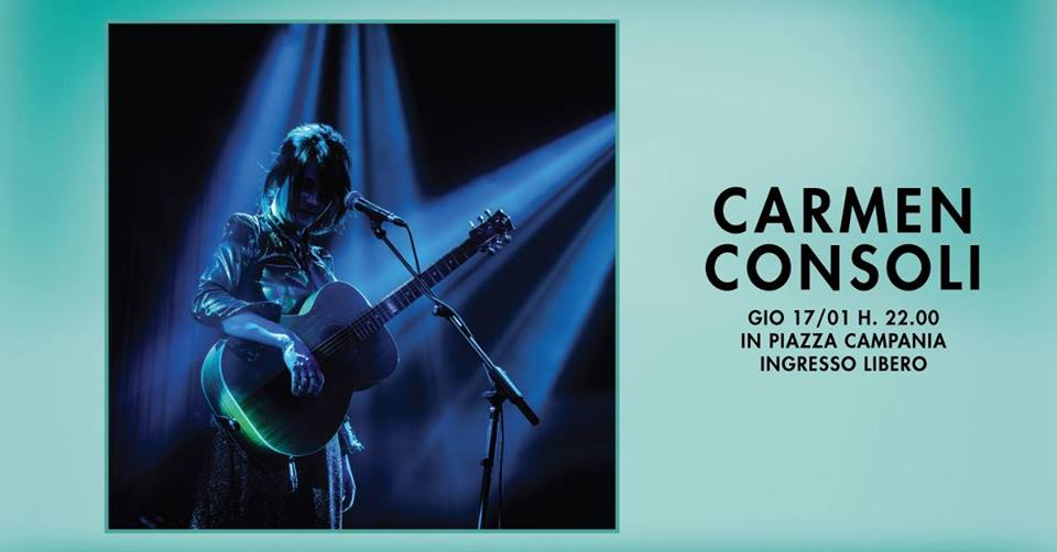 Carmen Consoli in concerto al Centro Commerciale Campania