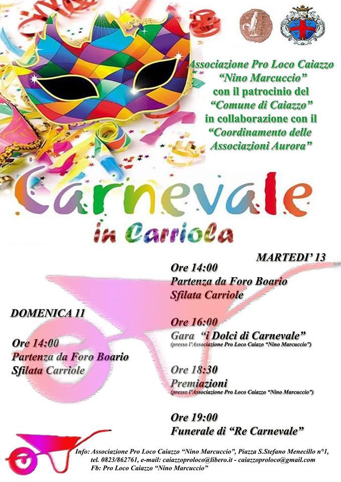 Carnevale in Carriola