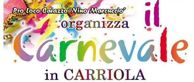 Carnevale in carriola