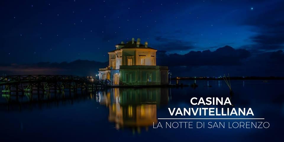 Casina Vanvitelliana sotto le stelle la notte di San Lorenzo