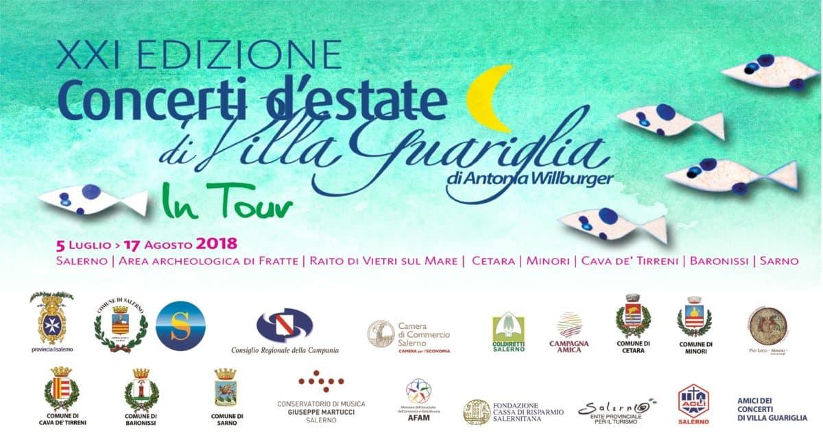 Concerti d'estate in Villa. eventi in Campania ad AGOSTO