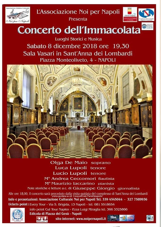Concerto dell'Immacolata e visita guidata S.Anna dei Lombardi