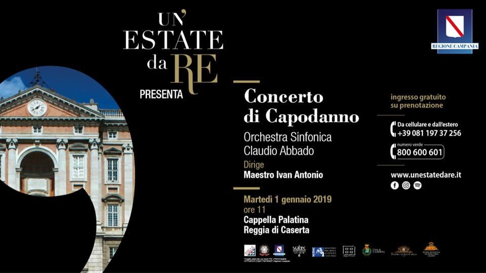 Concerto di Capodanno alla Reggia di Caserta
