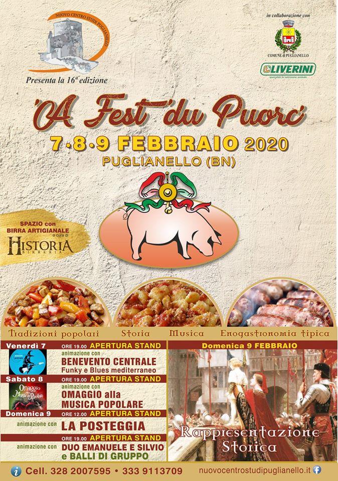 Festa del maiale a Puglianello