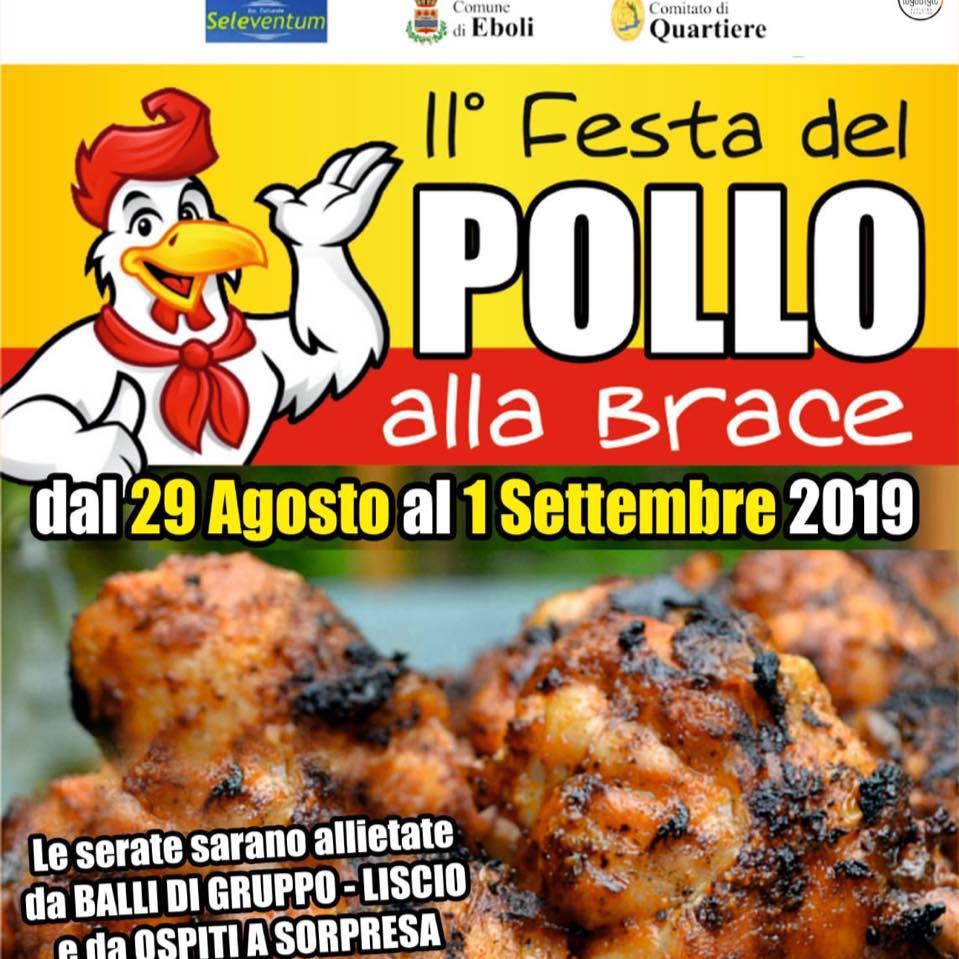 Ad Eboli il Festival del Pollo alla Brace