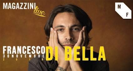 Francesco Di Bella live ai Magazzini Fermi