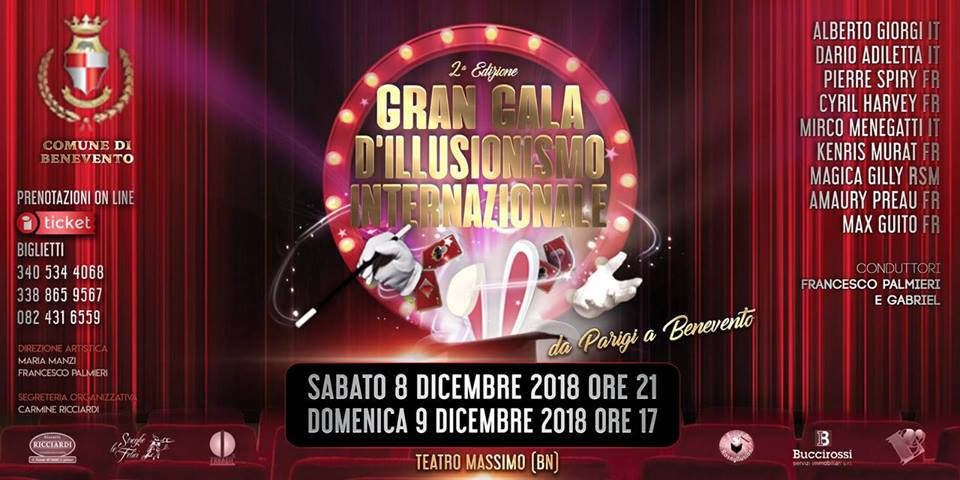 Gran Gala dell'Illusionismo Internazionale - Benevento