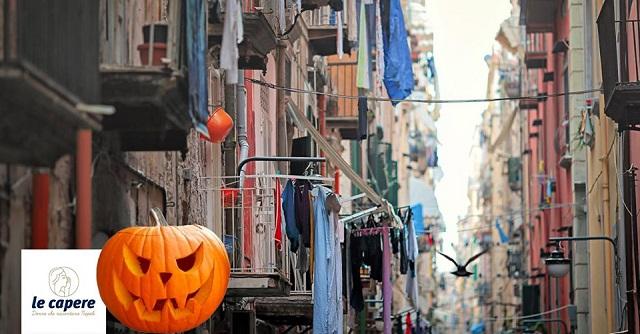 Halloween 'ncopp 'e Quartieri con pizza fritta!