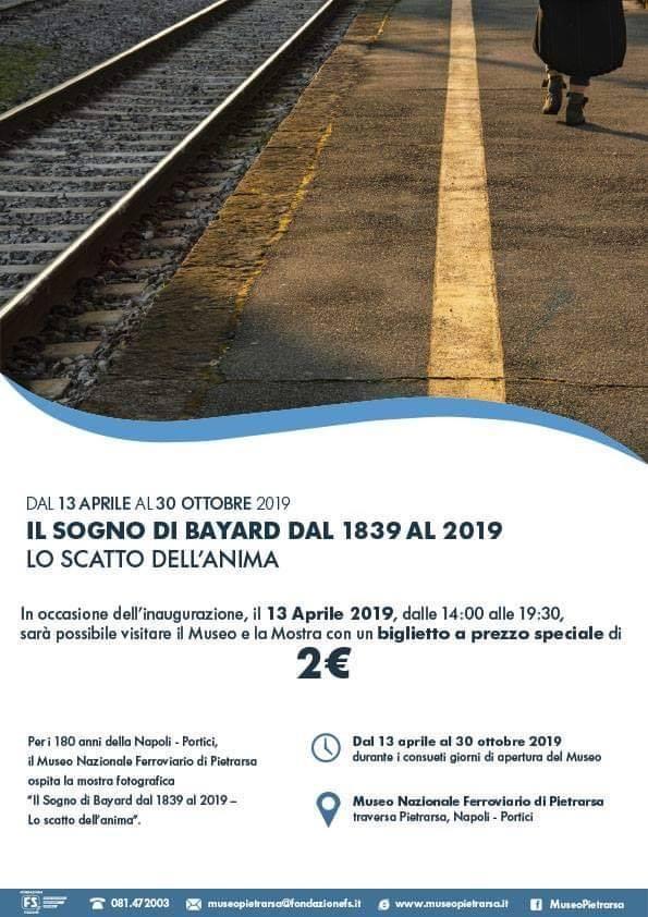 Il Sogno di Bayard dal 1839 al 2019: lo scatto dell'anima