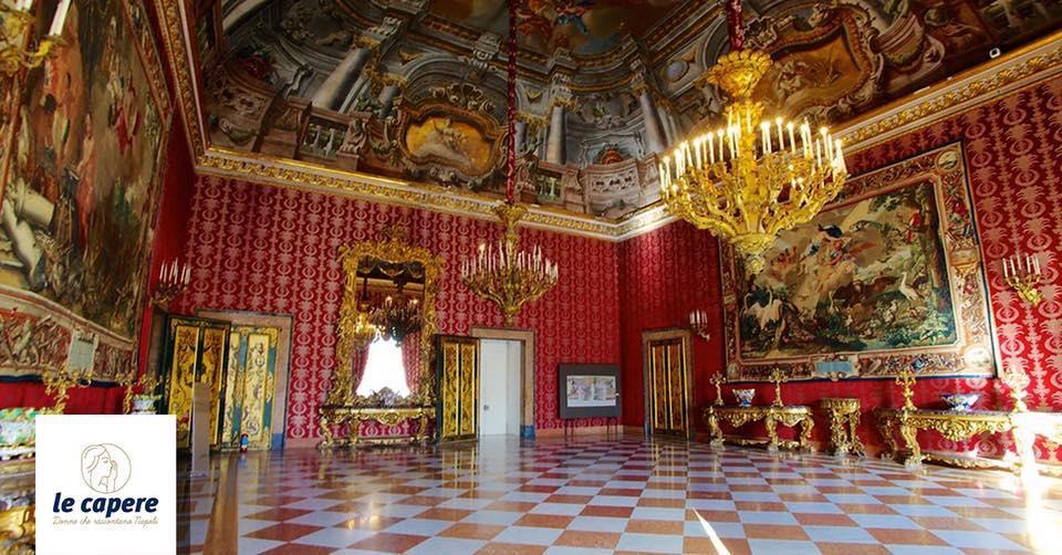 Inciuci a Corte il Palazzo Reale di Napoli