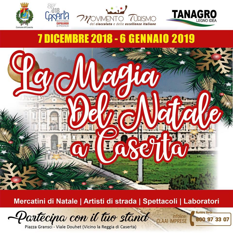 La Magia del Natale a Caserta
