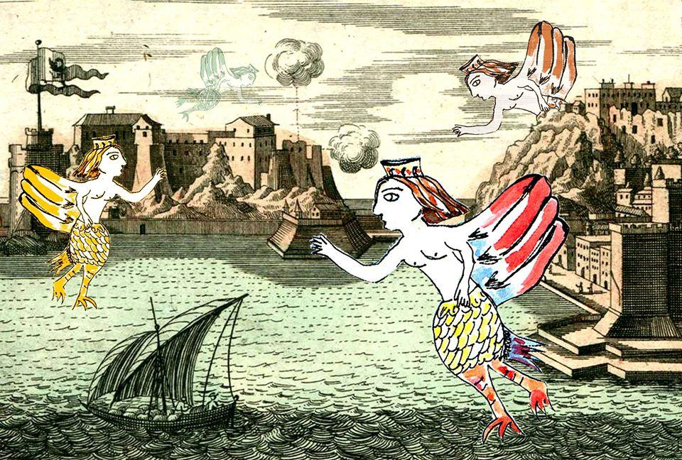 La favola delle Sirene: tour per bambini a Castel dell'Ovo