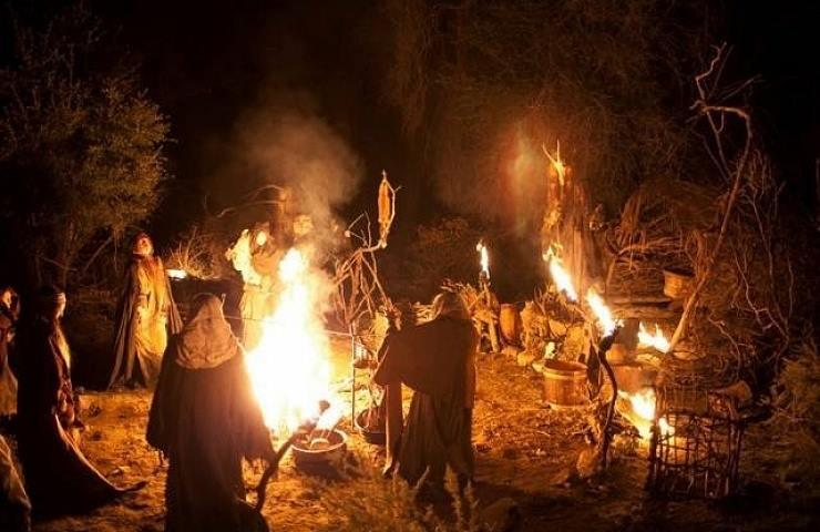 La notte delle Fiaccole nel Castello - Il Carnevale delle Streghe