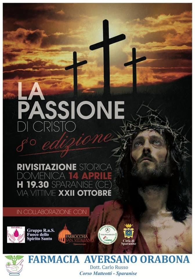 La passione di cristo a Sparanise