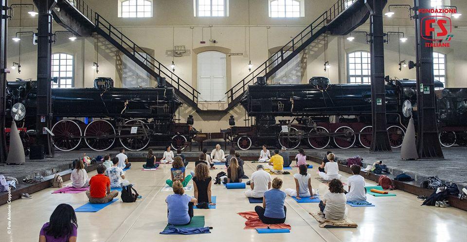 Lo Yoga per i Musei, i Musei per lo Yoga