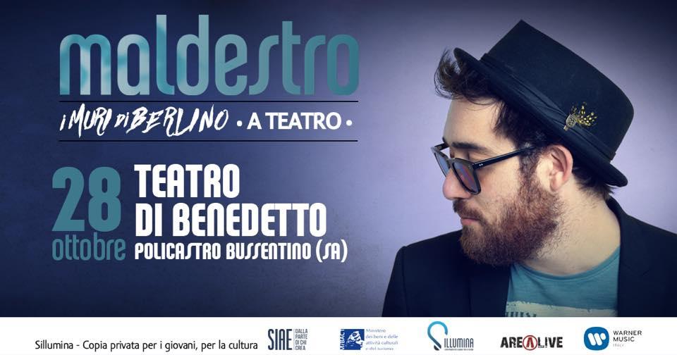 Maldestro al Teatro di Benedetto