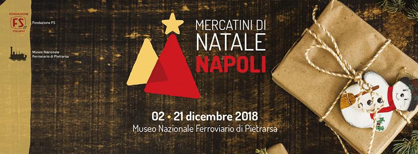 Mercatini di Natale al Museo Nazionale Ferroviario di Pietrarsa