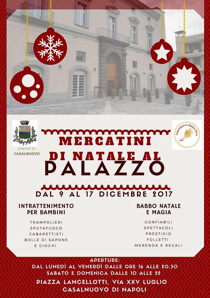 Mercatini di Natale al Palazzo Lancellotti di Casalnuovo