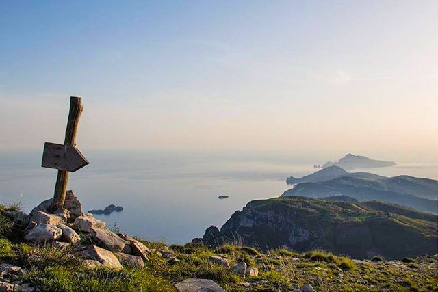 Monte Faito, trekking sulla cima del Molare