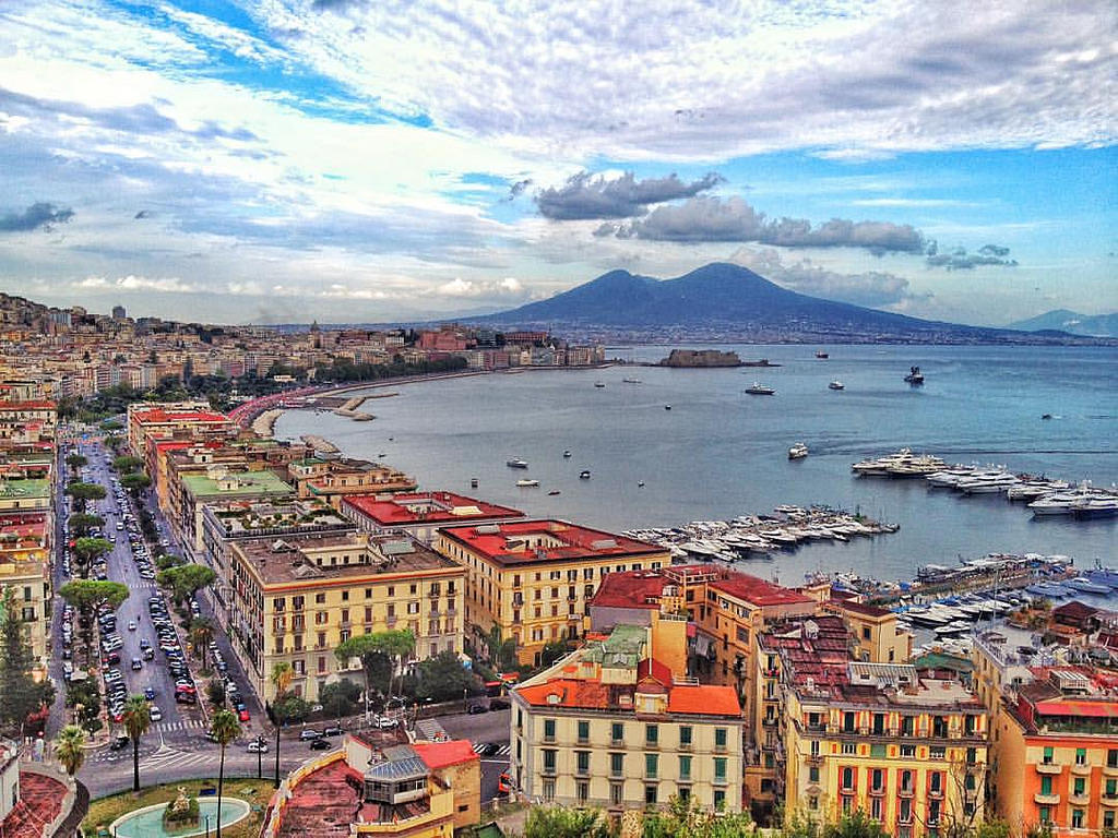 Visita a Napoli