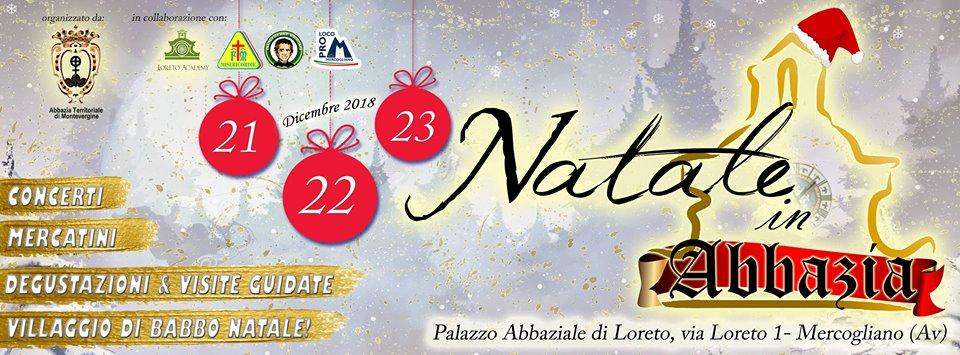 Natale in Abbazia 2018