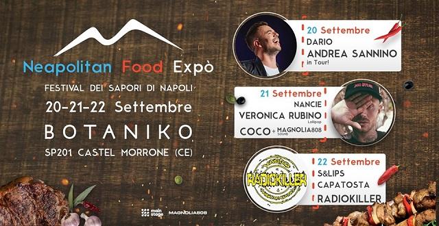 Neapolitan Food Expò al Botaniko