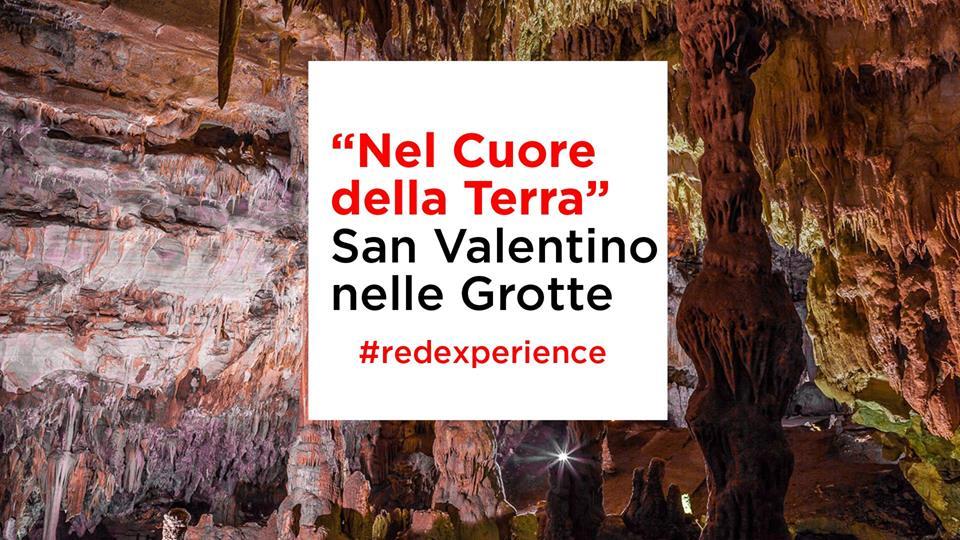 Nel cuore della terra - San Valentino nelle Grotte