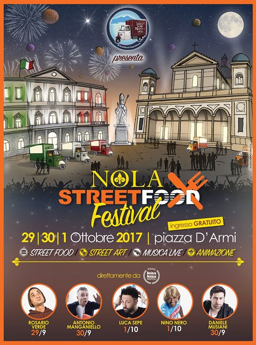 Street food festival Nola