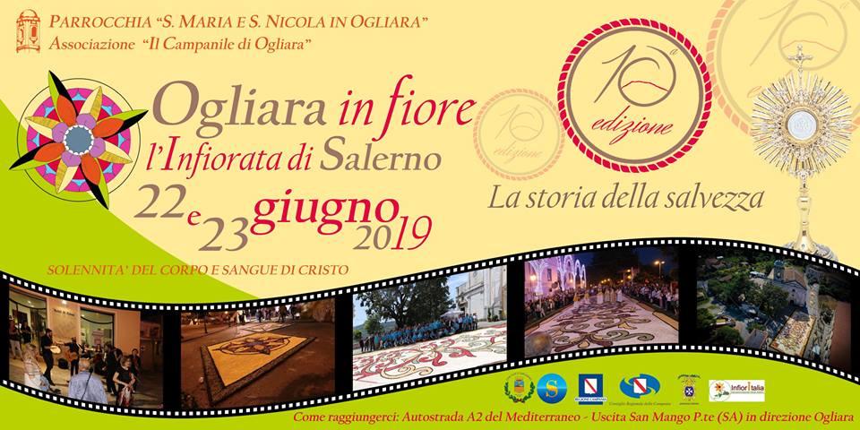 Ogliara in Fiore - L'Infiorata di Salerno X edizione