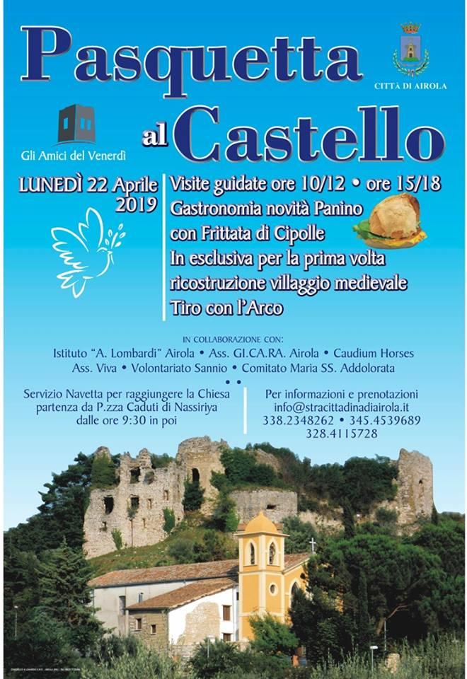Pasquetta al Castello di Airola