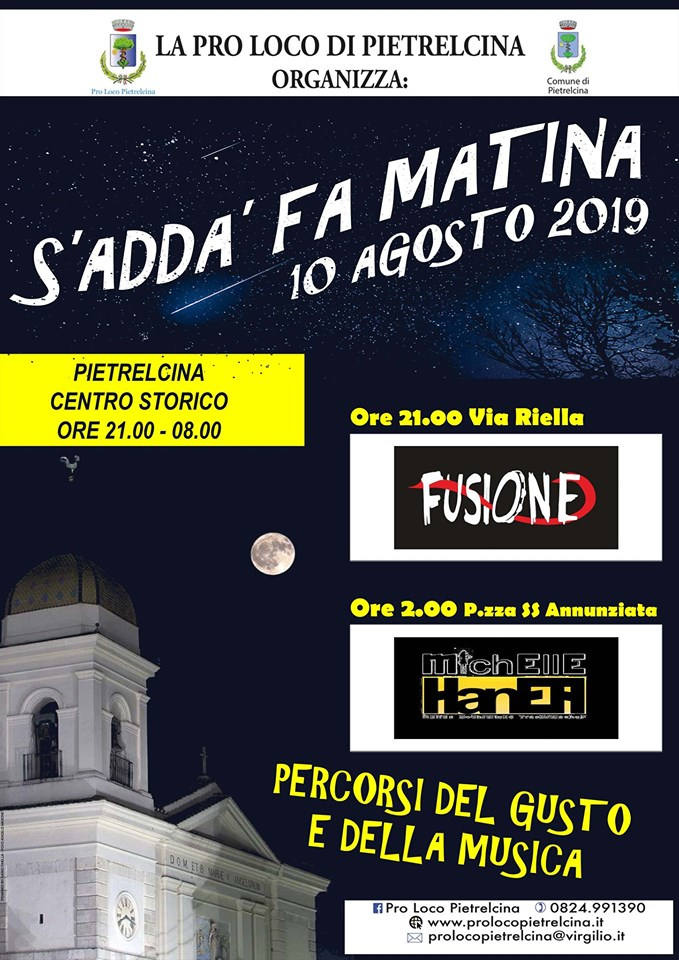 Pietrelcina festeggia la notte di San Lorenzo