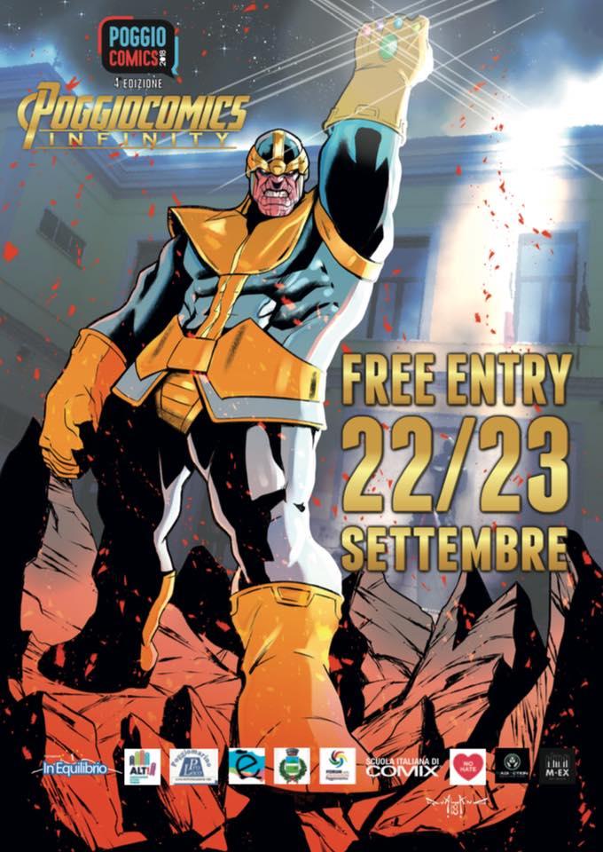 Poggiocomics Infinity: la fiera del fumetto