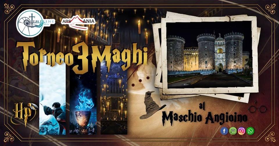 Harry Potter al Maschio Angioino di Napoli