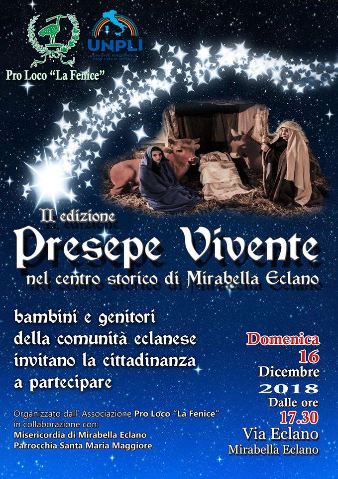 Presepe Vivente nel centro storico di Mirabella Eclano