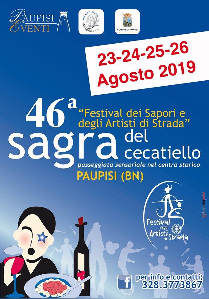 Sagra del cecatiello - Festival dei Sapori e degli artisti di Strada