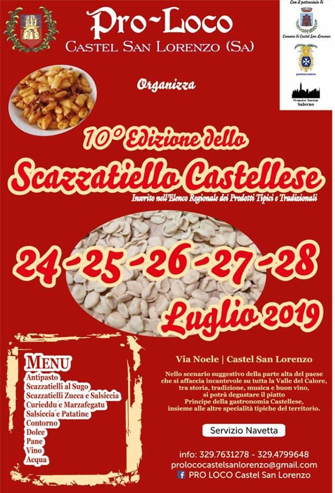 Sagra della Scazzatiello Castellese a Castel San Lorenzo