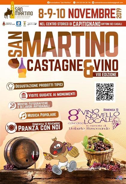 San Martino: castagne e vino a Giffoni Sei Casali
