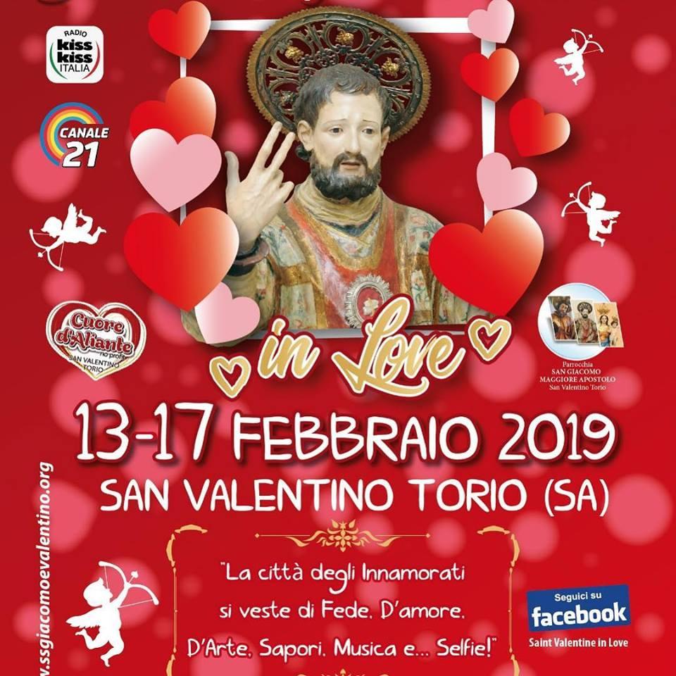 San Valentino Torio: la città  festeggia San Valentino