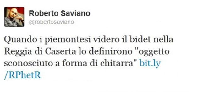 Roberto Saviano e il bidet