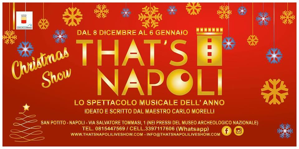 That's Napoli Christmas Show
