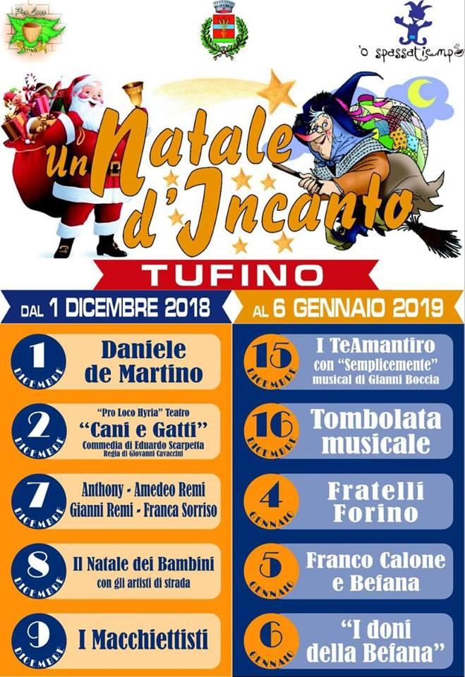 Un Natale d'incanto Tufino