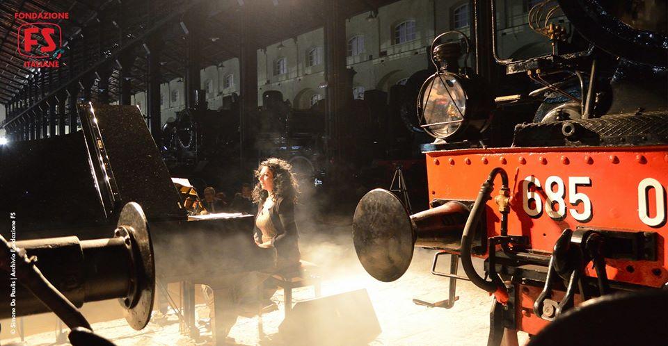 Viaggiando - pianoforte e voce nei 180 anni della Napoli-Portici