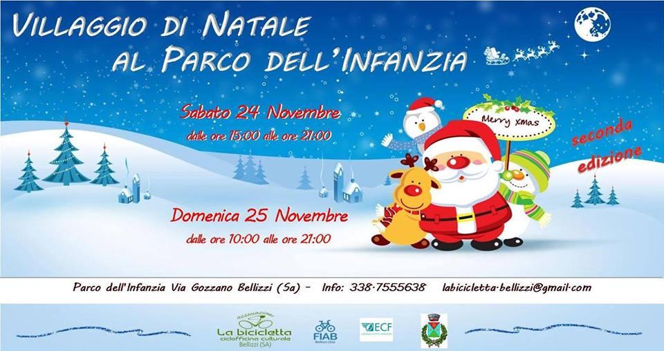 Villaggio di Natale al Parco dell'Infanzia - Bellizzi