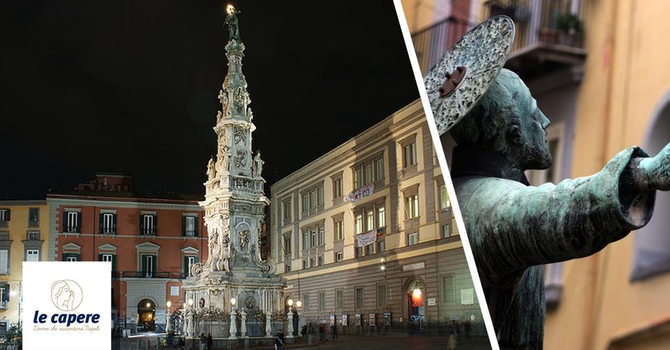 Visita in musica: centro storico tra santi, briganti e tammorra con cuoppo